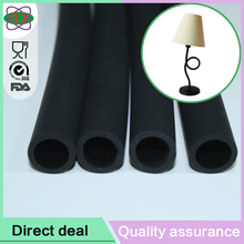 Custom design promo silicone tube silicone rubber sleeve for gooseneck and lamp