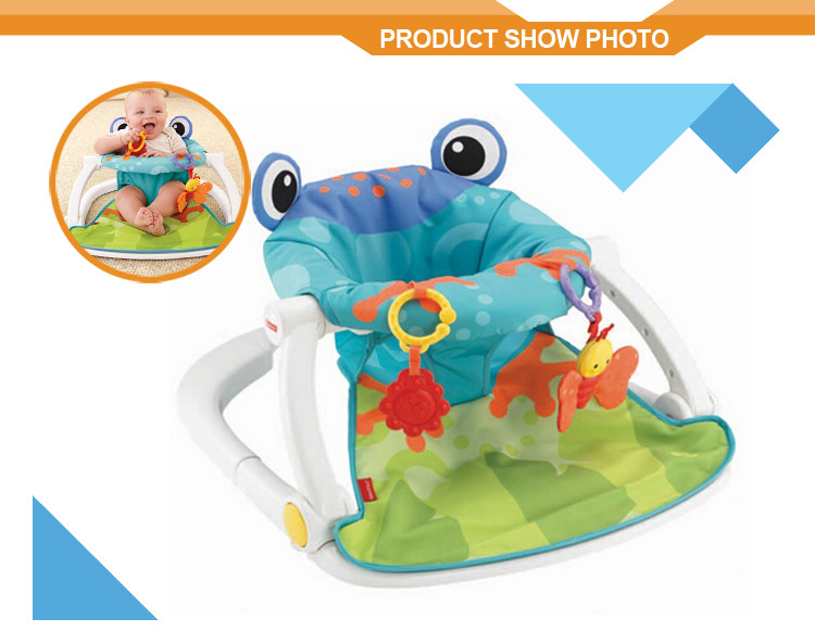 Lovely frog cushion best price sitting baby chair portable