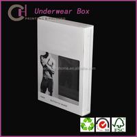 Mens underwear Paper Packaging Box with good quality material