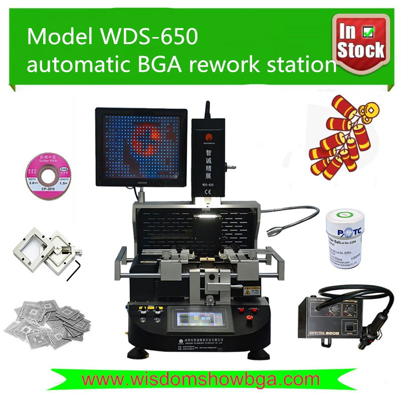 bga welding equipment,WDS-650 optical automatic cell phone repair station, playstation 4 XBOX one motherboard repair machine