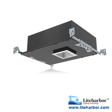 "High lumen 3.5"" Downlight / Dimmable / Wall Wash 12W COB LED Shallow square led recessed downlight"
