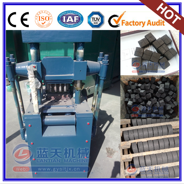 Saving Energy Coconut Shisha Charcoal Coal Powder Briquette Making Machine