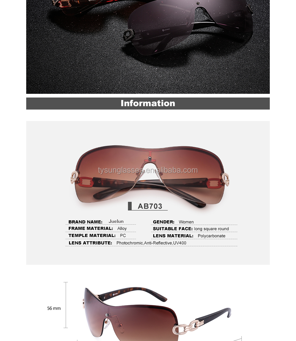 Rimless Alloy Stent Gradient 2017 women Sunglasses New frame Fancy Smart metal frame fake Sun Glasses lentes de sol Wholesale