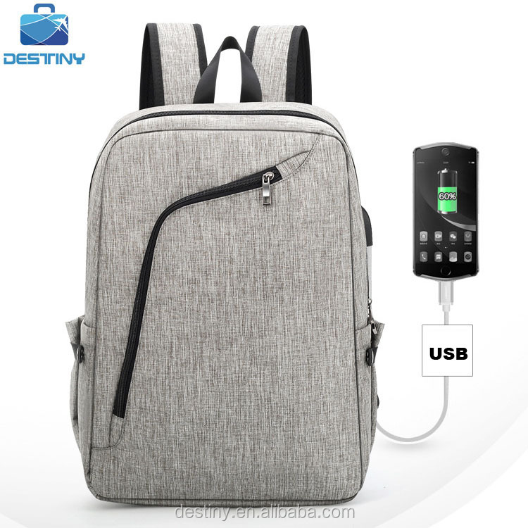NEWEST fashion multifunctional headphone travel laptop backpack with usb