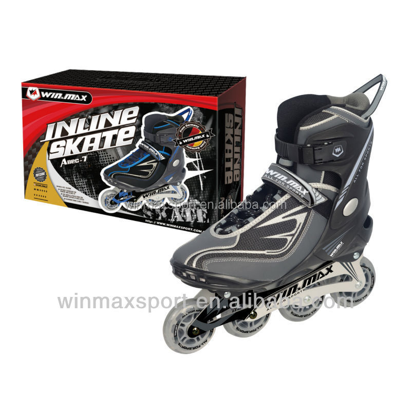 Winmax brand professional Aluminum frame racing skate shoes