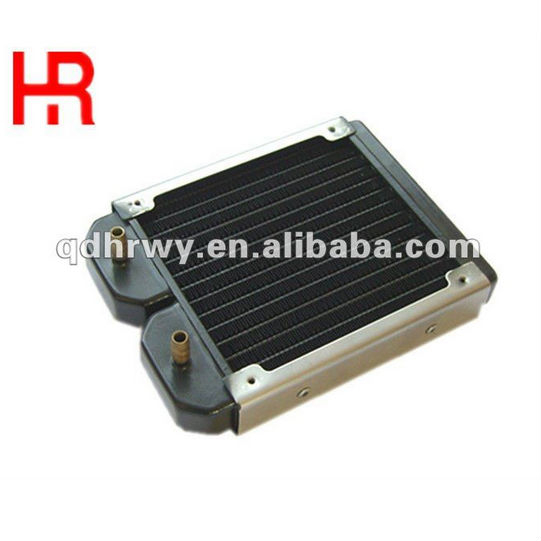 Newest design small copper water cooling radiator cpu computer copper water cooling radiator-120mm