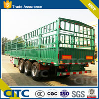 40ton Fence Cargo Trailer Side Panel of Livestock Trailer