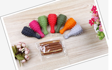 Colorful drumstick for silicone pet chewing toys Pet molar non-toxic