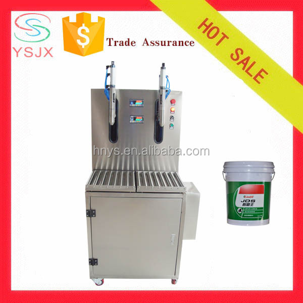 liquid manure weighing filling machine with high production
