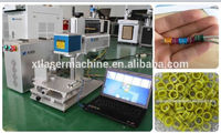 bird ring/pigeon ring labeling marking machine/ fiber laser marking