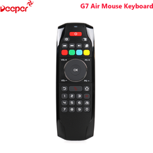 Factory Directly 2.4G Wireless Arabic Gaming Keyboard G7 Air Mouse For Smart Tv