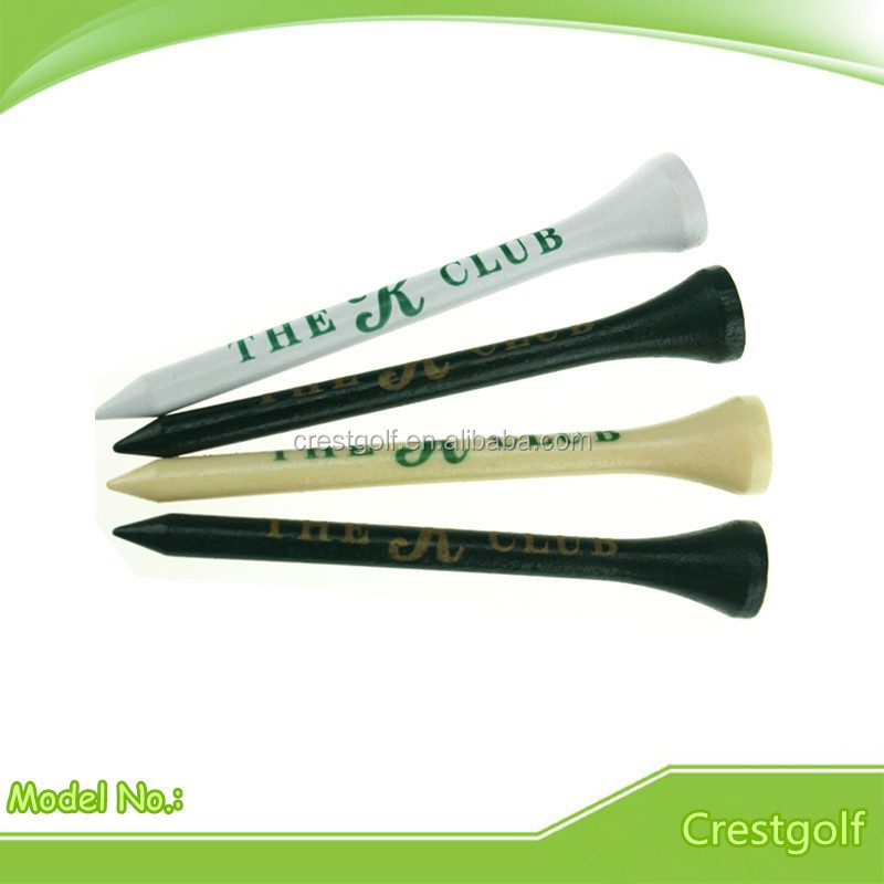 Custom Super Big Logo Printed Wood Golf Tees, Wood Golf Products