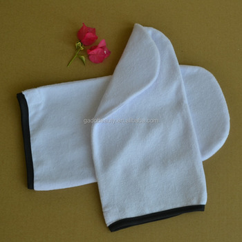 Terry gloves - paraffin wax spa gloves, gloves for hand mask (Paraffin mitt )