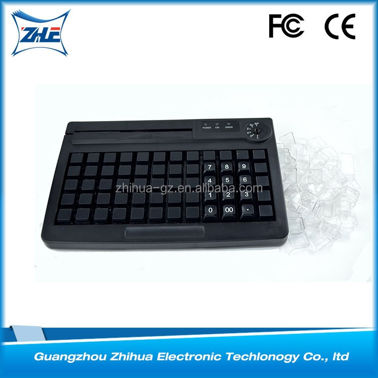 For POS System Smart Card Reader Programmable Keyboard