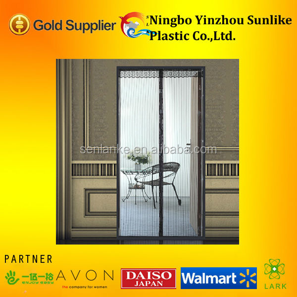 mesh insect door curtain with magnet,Defend the gnat