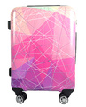 print airport cabin size trolley luggage bag easy trip