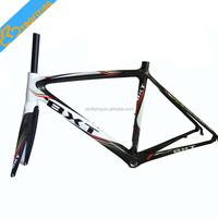 2016 New design oem carbon road bike frames, famous Chinese 700C road bike carbon frame,2016 paintings carbon frame