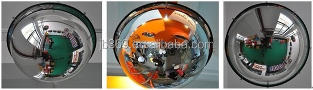 360 degree dome mirror/convex mirrors/indoor safety mirrors