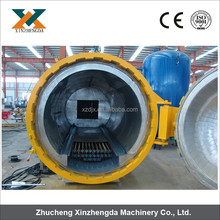Full-automatic Industrial Laminated Glass Reacting Autoclave with High Efficiency