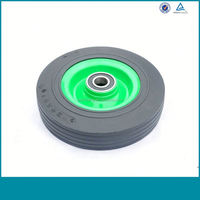 Hot Selling Solid Rubber Wheels With Plastic Hub