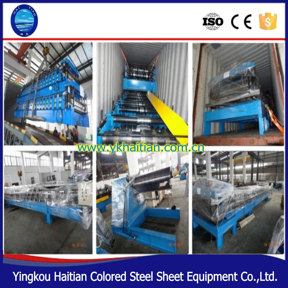 European Africa Double Layer Roof Corrugated Sheet Forming Machine