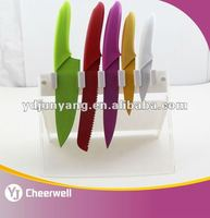 High Quality Coating Knife with Acrylic Knife Block
