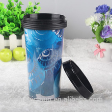 Customizable Craft Double Wall Plastic Thermos Cup