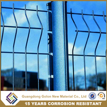 Good Quality New Design decorative garden curve fencing corrosion resistant iron wire mesh fence for Park