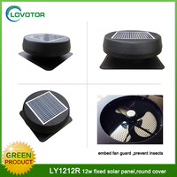 Poultry ventilation air flow outdoor solar powered portable fan with brushless motor