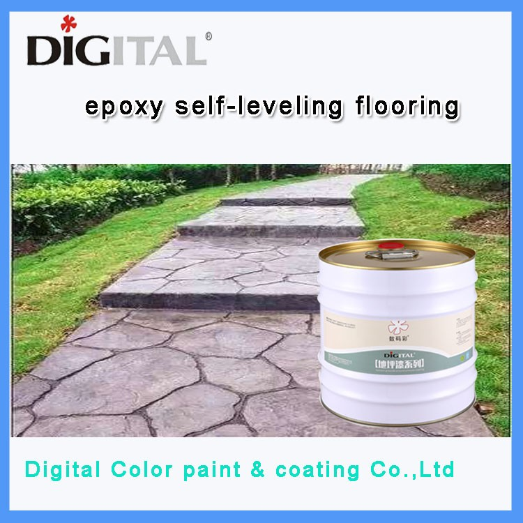 High strength waterproof epoxy paint floor for factory