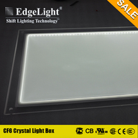 Edgelight factory transparent picture frame types of advertising boards manufacturer from China Shanghai