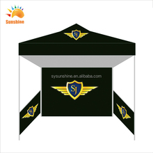 Custom heat transfer beach canopy outdoor party tent canvas 3-4 people tents sun large party event tents with walls