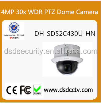 Dahua 4Mp Full HD 30x WDR Ultra-high Speed Network PTZ Dome Camera DH-SD52C430U-HN