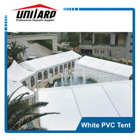 high strength white pvc exhibition or wedding event tent