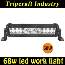 New Arrival! 13.5'' 68W LED DRIVING LIGHT BAR 5780LM Offroad Led Driving Lamp SUV ATV 4x4 Led Work Light Bar moto