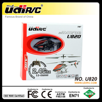 UDIRC 2.4ghz small 3.5CH rc flying model helicopters U820