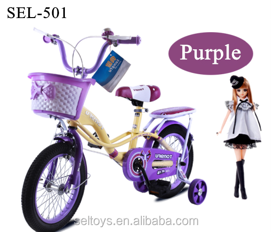 princess 6 year for purple girl bike Beautiful kid bike/pink kid bicycle/children bike for girl with balance wheel