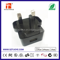 10W 5V 2A Single Port UK PLUG 3 PIN USB Wall/Travel Charger AC Power Adapter for Phone/Tablet