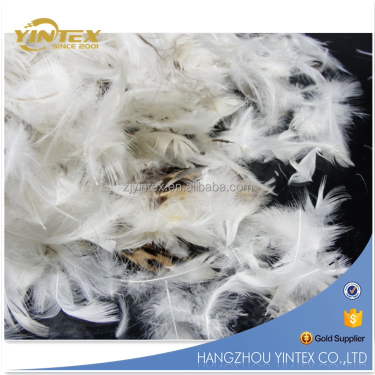 Best Natural Grey Duck 80% Feather 20% Down Filling Material Hot Sale