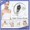 Bless-1012 ABS plastic battery operated personal body care electronic digital pulse massager