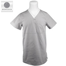 New design V-Neck male nurse uniform nurse hospital uniform medical scrubs suit