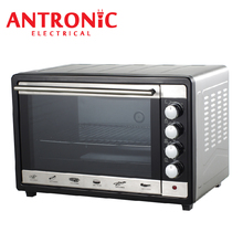 Multifunational electric pizza oven with stainless steel door frame control pannel