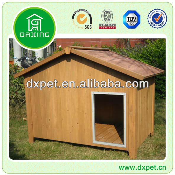 Large Wooden Dog House DXDH003