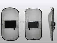 French type transparent PC material anti-riot shield
