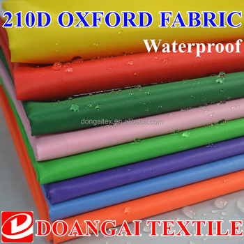 cover cloth oxford fabric 150d waterproof tent fabric
