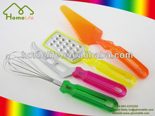 Eco-friendly stainless steel kitchenware metal plastic kitchenware wholesale