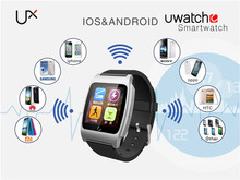 Smart watch White Uwatch UX Built- in Heart Rate Monitoring for Android IOS Sleep Monitor
