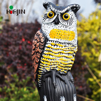 Home And Garden Plastic Animal Decoration Plastic owl