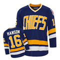 Embroidered Player Hockey Jersey HANSON#16 For Hockey Team American