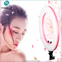 Hot beauty eye dimmable 18 inch LED studio ring light 48W 432 LEDs for makeup